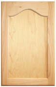 Maple Flat Panel with Cathedral