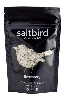 saltbird | flavoured salt | rosemary