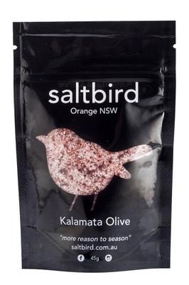 saltbird | flavoured salts | kalamata olive