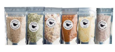 saltbird | 6 pack sampler | flavoured salts