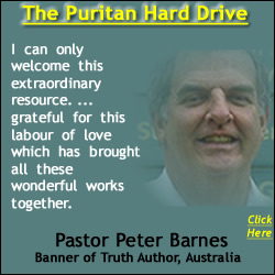 Pastor Peter Brown Recommends the Puritan Hard Drive