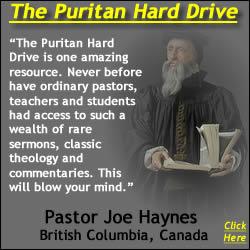 Pastor Joe Haynes Recommends the Puritan Hard Drive