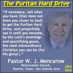 Pastor W. J. Mencarow Recommends the Puritan Hard Drive