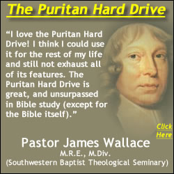 Pastor James Wallace Recommends the Puritan Hard Drive