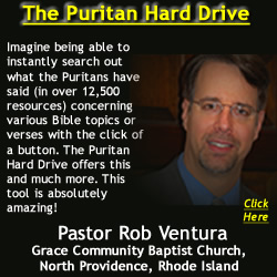 Pastor Rob Ventura Recommends the Puritan Hard Drive