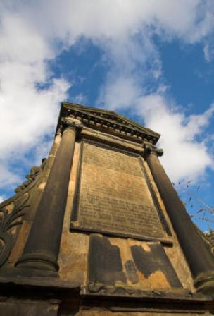Covenanter Martyrs Memorial Greyfriars Chruchyard
