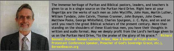 Richard Bennett on the Puritan Hard Drive