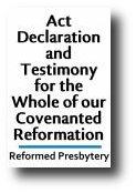Reformed Presbytery In North America RPNA