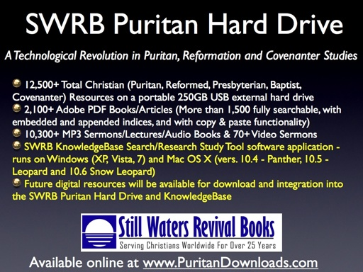 SWRB Puritan Hard Drive OVERVIEW OF FEATURES
