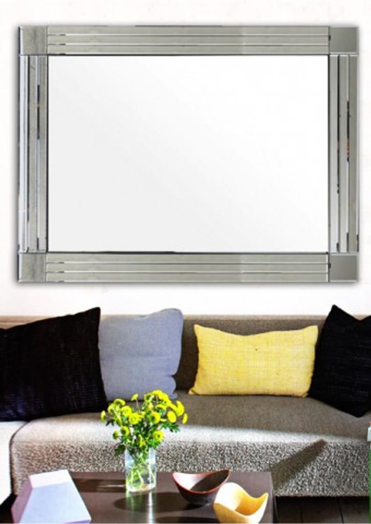 St Kilda Frameless Mirror