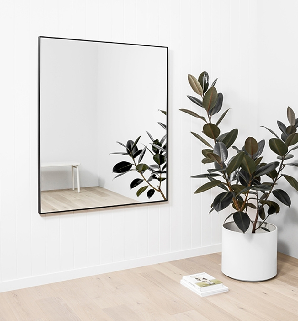 Modern Simple Framed Mirror