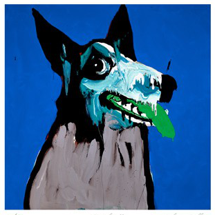 Growler in Blue