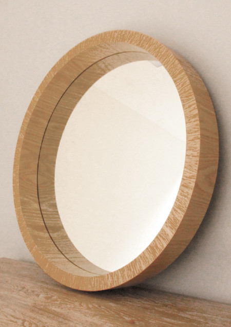 Natural Timber Frame Mirrors Print Decor Art Mirrors