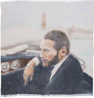 Paul Newman Scarf by Suzi Roher