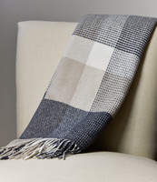 Foxford Cashmere blend throw blanket