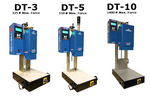 The 3 different models of the DT press.