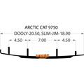 """Woody's Dooly - 6"""" Arctic Cat DA6-9750"""