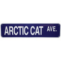 "ARCTIC CAT AVE. - ALUMINUM STREET SIGN 6"" X 24"" (624ACA)"