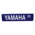 "YAMAHA DRIVE - ALUMINUM STREET SIGN 6"" X 24"" (624YDR)"