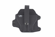 L.A.G. Tactical's modular carry system makes the addition of the handcuff carry to your duty best a snap.