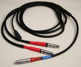 70425m - Topcon Receiver to Topcon RE-S1 Radio and  Pacific Crest ADL Radio Splitter Cable - 9 ft.