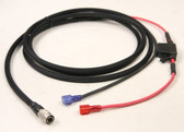 20083Y - Power Cable for 5600/Geodimeter to  Yellow Jug Battery - 7 ft.