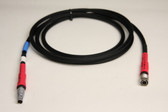 70179E - Power Cable: Trimble S-6 Power Pack to 57-58-R8 Receivers - 6 ft.