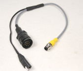 A-01764-C - Pacific Crest ADL Sentry Radio to Topcon 9060-5309 Receiver Cable - 18 inches
