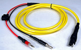 "70064N  Power Cable- SAE Power connector to ""Banana Plug"" connectors"