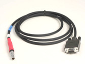 70329-6m  Programming / Data Cable only, DB-9 Female to 7 pin #0 Shell Lemo connectors @ 6m (20 ft)