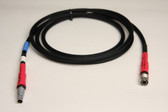 70179E-12m,  Power Cable: Trimble S6,S8  Power Pack to R12,R10 5700-5800-R8 Receivers - 12 ft.