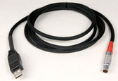 265018-USB,  GeoMax Zenith 20,25,40 USB Data Transfer Cable, 6 Ft. long