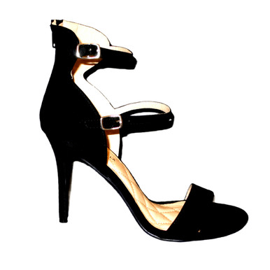 Shoe republic strappy black heels