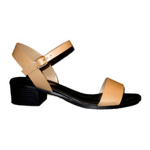 *FEATURED* Low Heel Nude Sandals with One Band