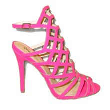 Open Toe High Heel Pink Sandals