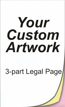 3 part, legal size, legal sized paper, legal size paper, legal size printing, 8.5 x 14, 14 x 8.5, 8.5x14