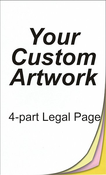 4 part, legal size, legal sized paper, legal size paper, legal size printing, 8.5 x 14, 14 x 8.5, 8.5x14