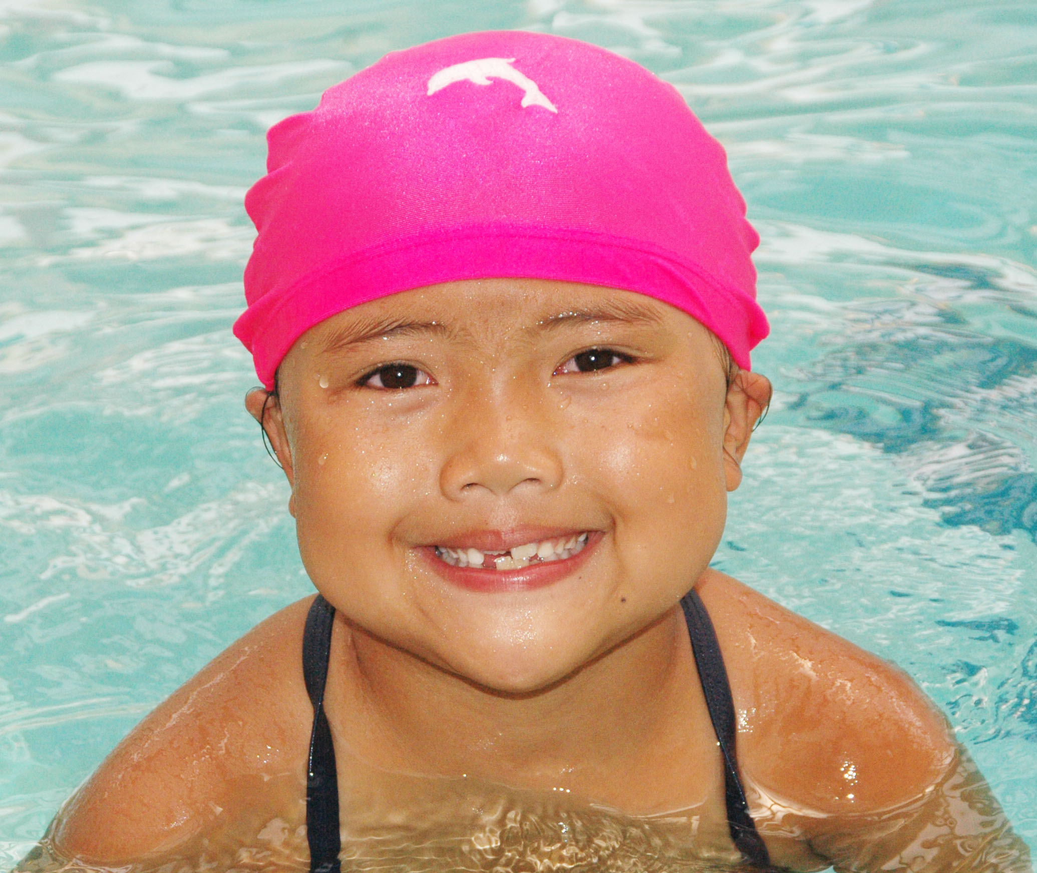 2019 year for girls- How to swimmers wear cap