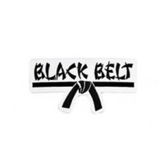 #1190 BLACK BELT PATCH