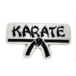 #1191 KARATE W/BLK BELT
