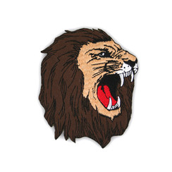 "#1236 LION HEAD  5"""