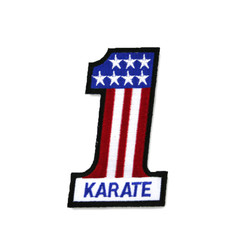 #1367 Karate #1 Stars/Stripes 4""