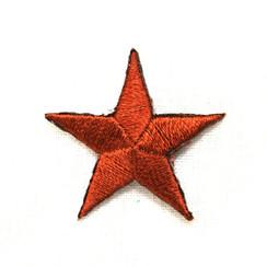 "Color Stars 1""  (50 PK) BROWN"