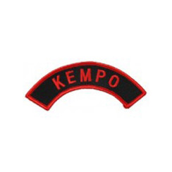 """#1448 KEMPO ARCH RED/BLK  5"""""""