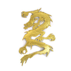 #1599 DRAGON (GOLD) 11""