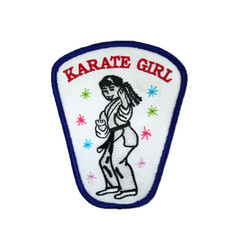 "#1617 KARATE GIRL  3.75"""