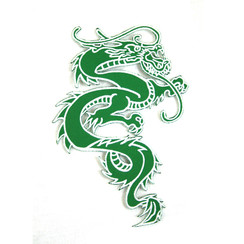 "#1642E Dragon 6"" (Green)"