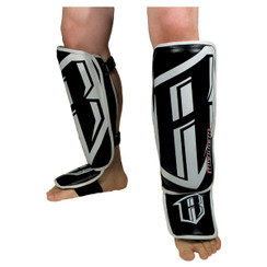 Revgear Professional Leather Shin Guards