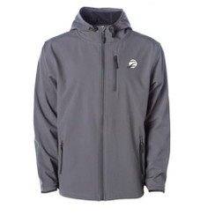 Z Logo Poly-Tech Soft Shell Jacket: Grey