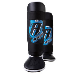 Revgear Youth Shin Guards: Blue